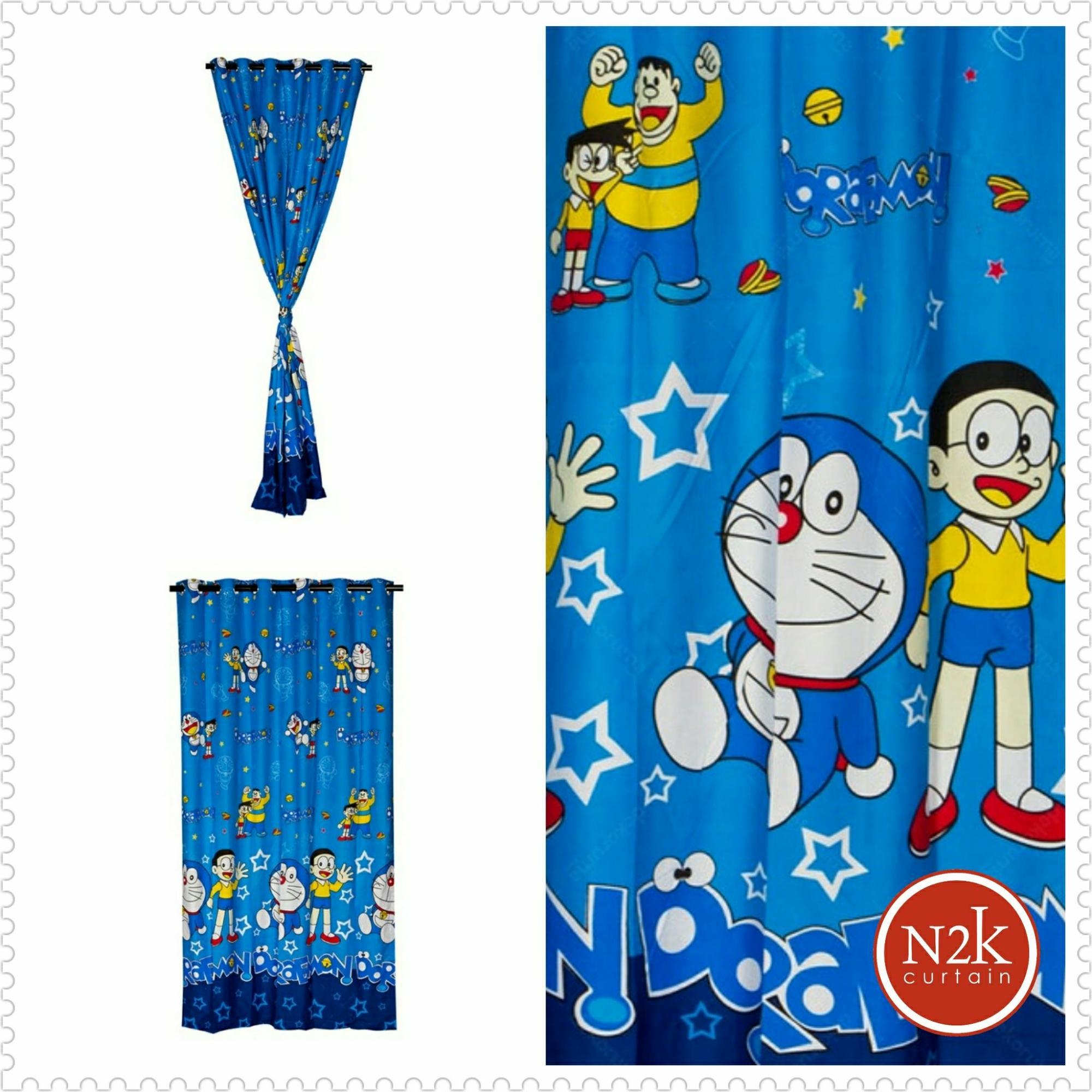 Buy Sell Cheapest Gorden Blackout Blazer Best Quality Product Motif Daun Doraemon Tirai Curtain