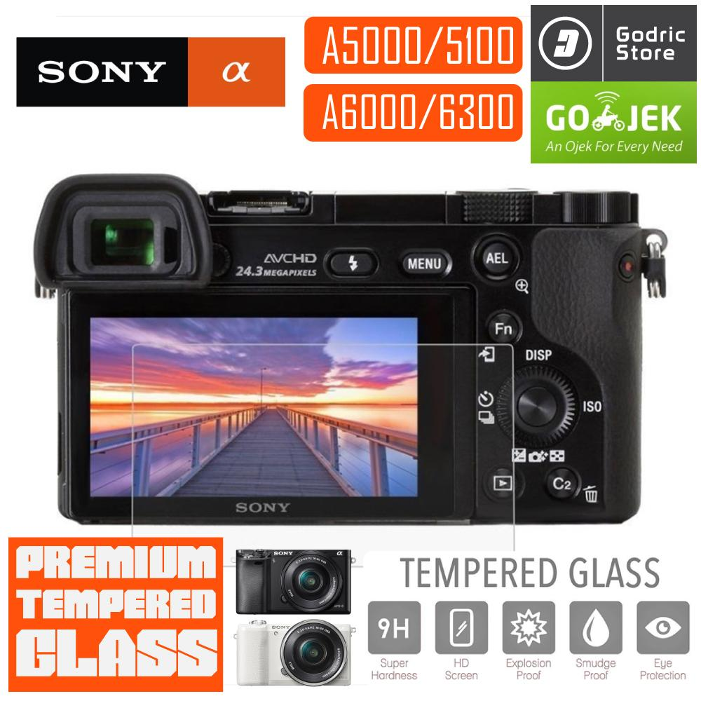 Sony Alpha A5000 A5100 A6000 A6300 Lcd Tempered Glass Screen Protector Anti Gores By Godric Store.