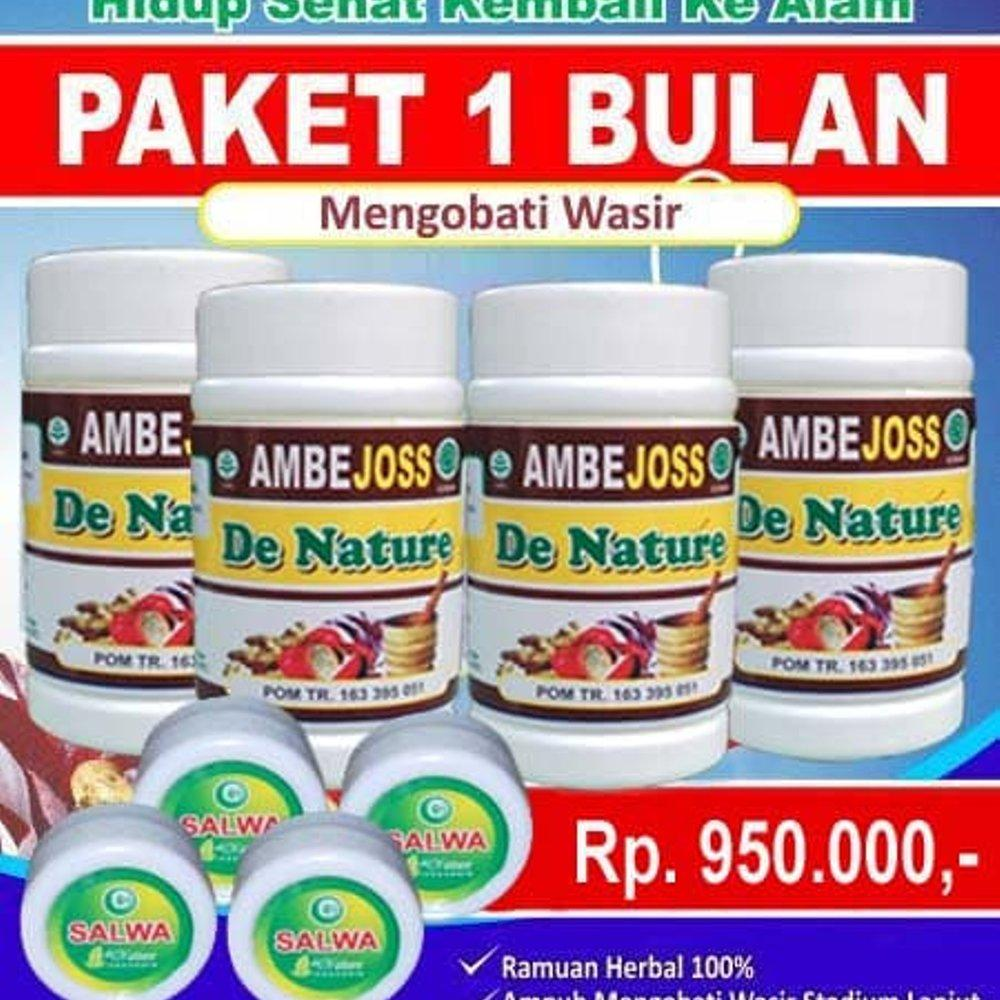 Buy Sell Cheapest Obat Ambeien Ampuh Best Quality Product Deals Ambejoss De Nature Paling Wasir Herbal Stadium 1 2 3 Salwa