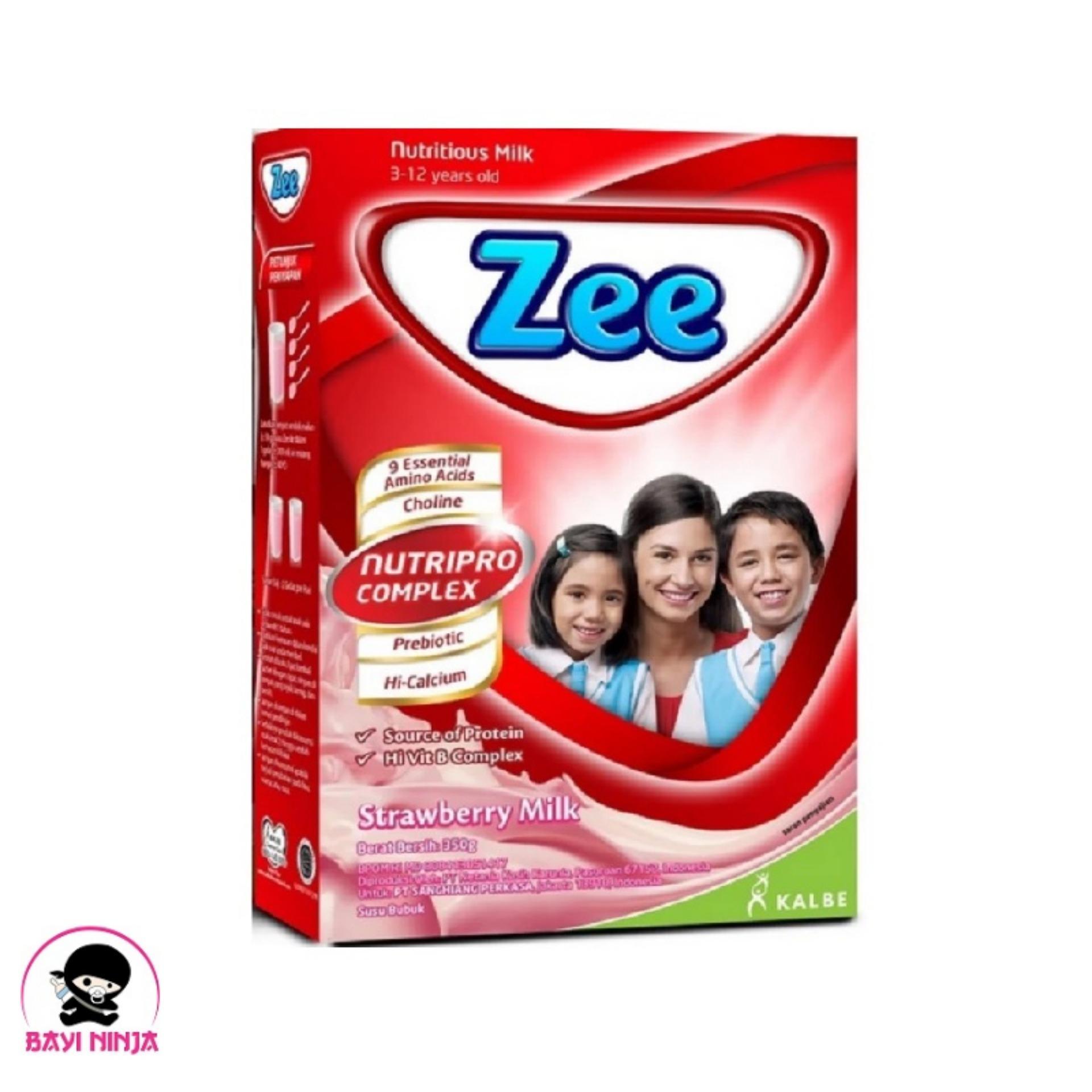 ZEE Strawberry Milk Strawbery Susu Box 350g 350 g