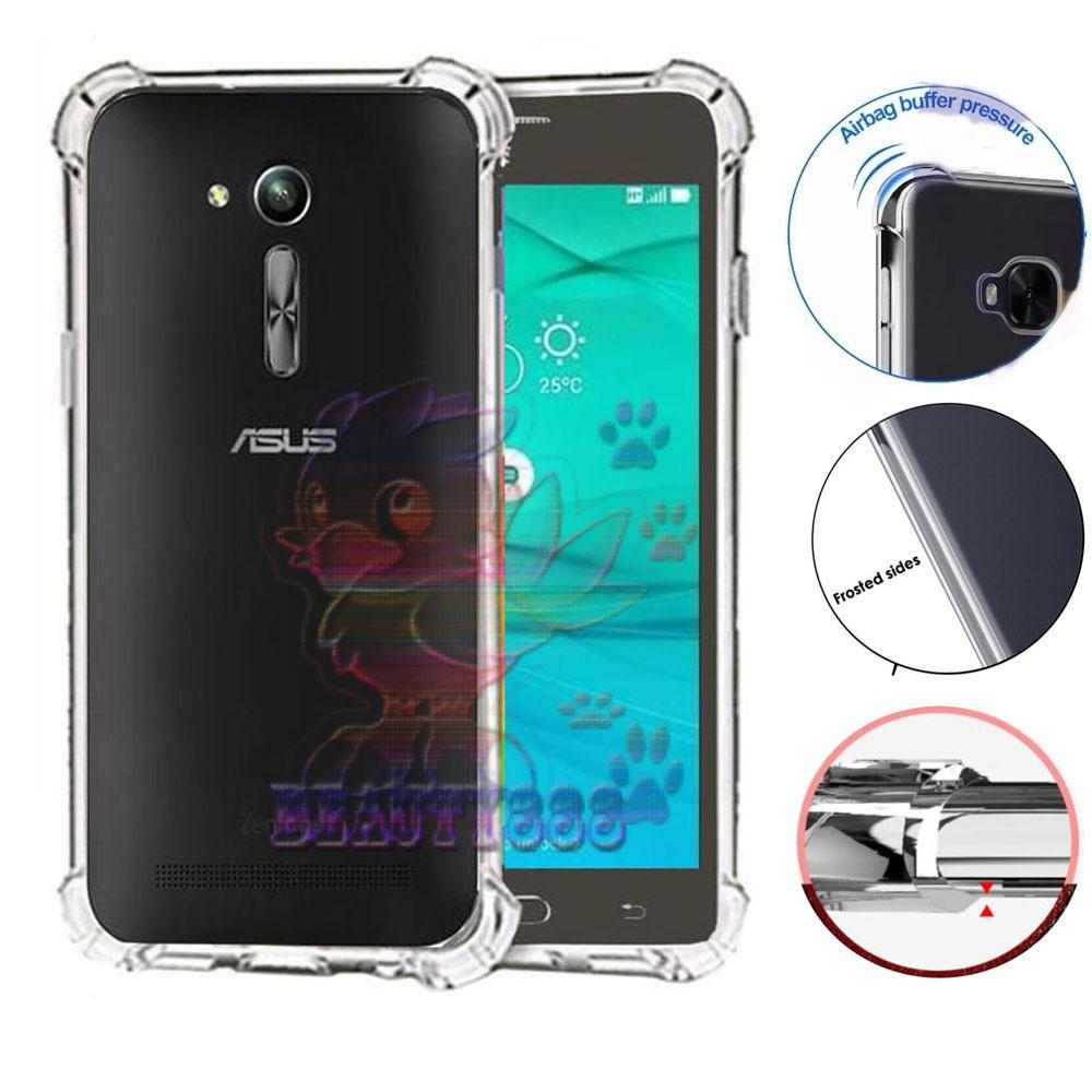 Beauty Case Asus Zenfone Go 4.5 2016 ZB452KG Ultrathin Anti Shock / Anti Crack Luxury Softcase Anti Jamur Air Case 0.3mm / Silicone  Asus Zenfone Go 4.5 ZB452KG / Soft Case / Silikon Anti Crack / Case Zenfone ZB452KG - Putih Transparant