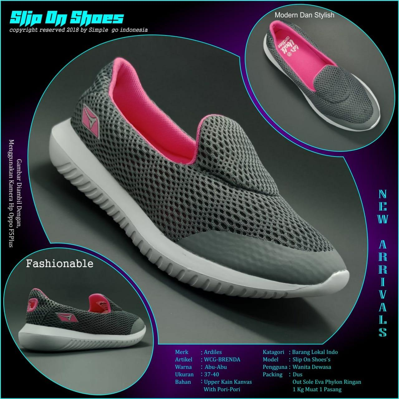 Jual Sepatu Sandal Ardiles Terbaik Men Edogawa Running Hitam 44 Brenda Wanita Casual 37 40