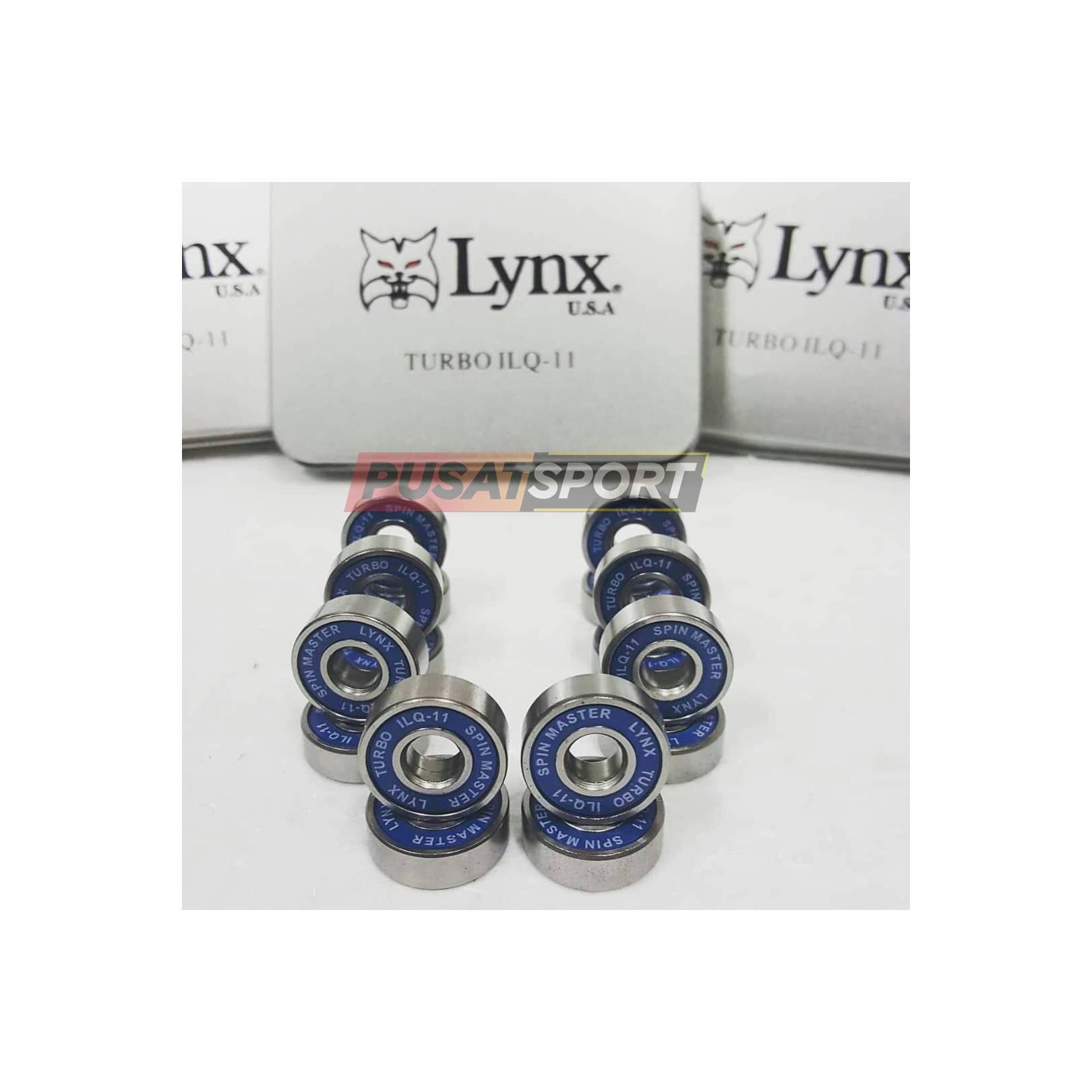 Sparepart Sepatu Roda Lynx Turbo IC Biru