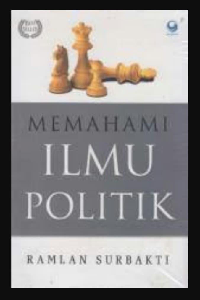Buku Memahami Ilmu Politik - ready stock