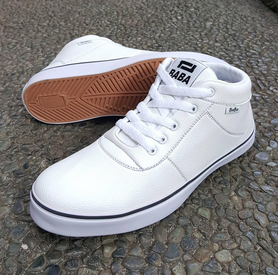 Jual Sepatu Sneakers Pria Terbaru Kets Spon Fashion Ket Cat Cats Wanita Sneaker Baba Casual Trendi Sn 01