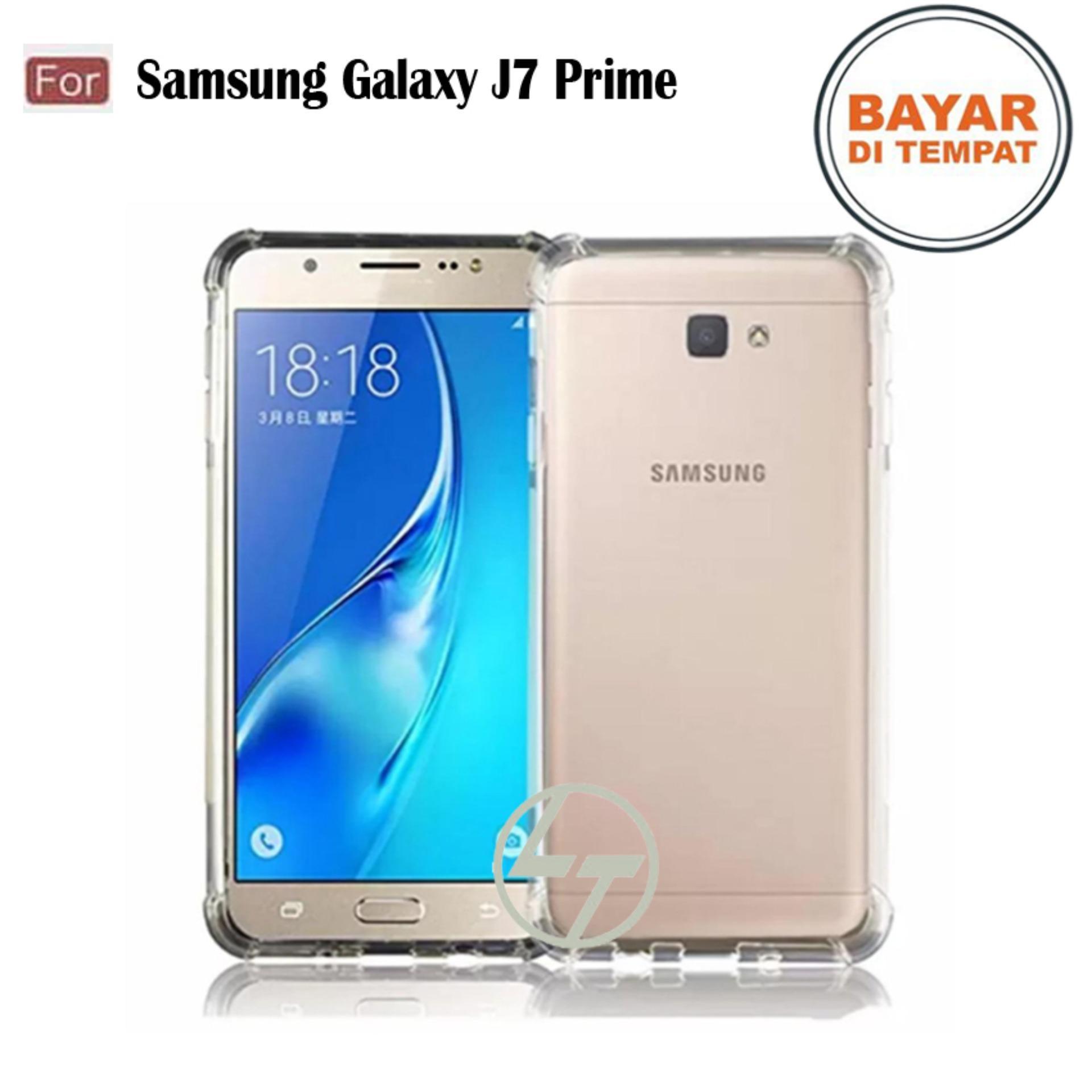 Lapak Case Anti Crack Elegant Softcase Casing Handphone Samsung ( Galaxy J7 Prime / 2016 )