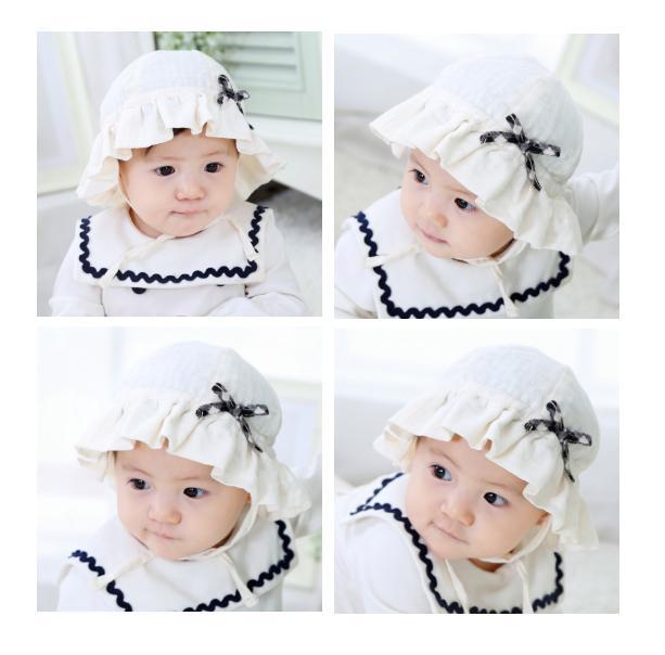 Topi Bayi Polos / Topi Anak Cewek / Topi Bayi Imut
