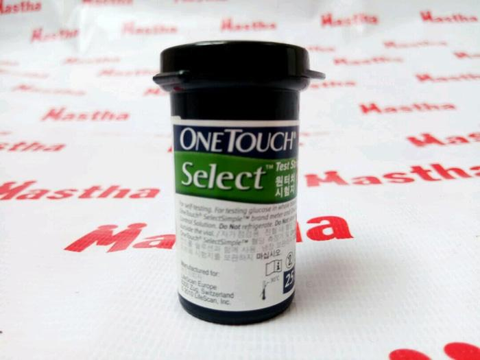 Strip Stik Stick Onetouch Select One Touch Select isi 25/ 1 botol tube