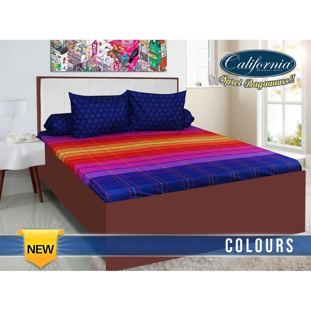 Buy Sell Cheapest Sprei California Colours Best Quality Product King Size Ss My Love 180 Colour 180x200 No 1 Murah Nasa