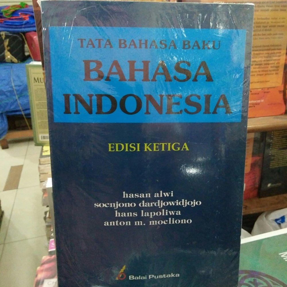 Tata Bahasa Baku Bahasa Indonesia Rama Store By Ramastore.