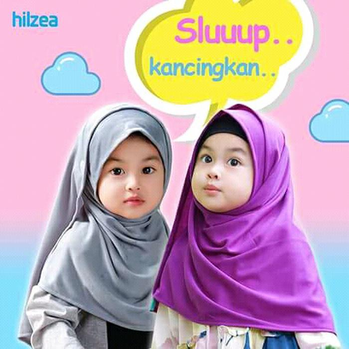 Jual  Jilbab anak Balita/ Jilbab bayi instan/ Pasmina instan anak Gadiza Low Price!