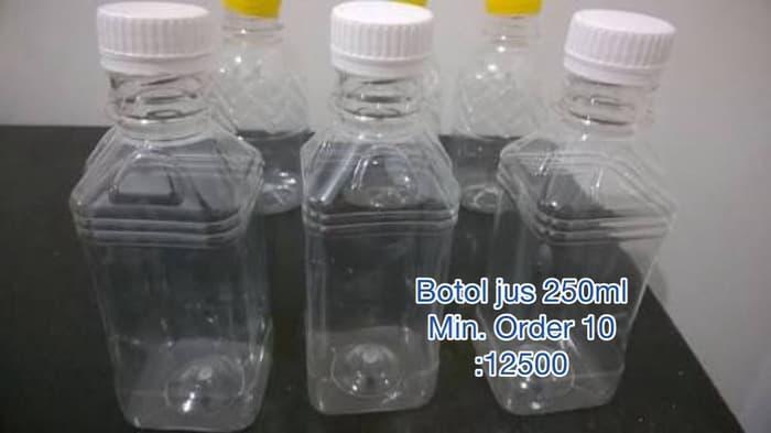 HARGA SPESIAL!!! Botol kemasan plastik jus yogurt teh 250ml packaging minuman - OJYEdk