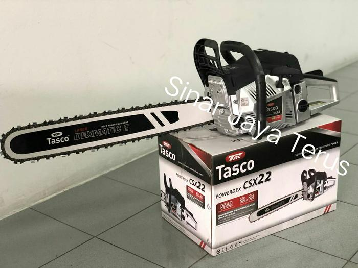 Promo Chain Saw Tasco CSX 22/ mesin potong pohon / mesin Potong kayu Original