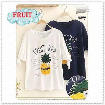 RICARDOF - Fruit Tee / Tshirt Wanita / Fashion Wanita / Atasan Wanita / Koleksi Terbaru