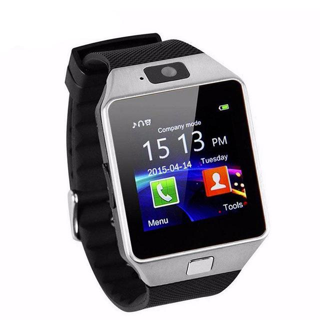 Great Smartwatch DZ09 Bluetooth with SIM Card and Micro SD slot for Android Smartphone