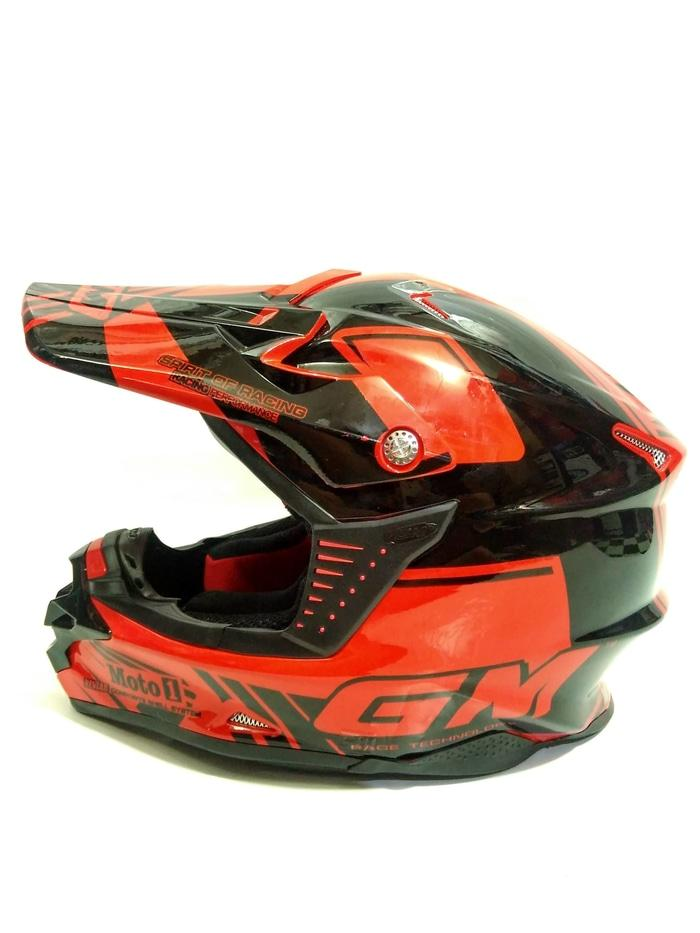 GM Helm Super Cross Moto1 Trail Moto-1