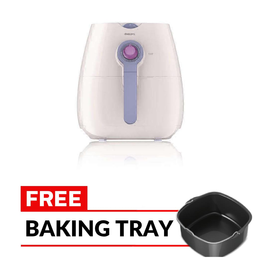Philips Viva Collection Airfryer with Rapid Air Technology HD9220/40 Putih