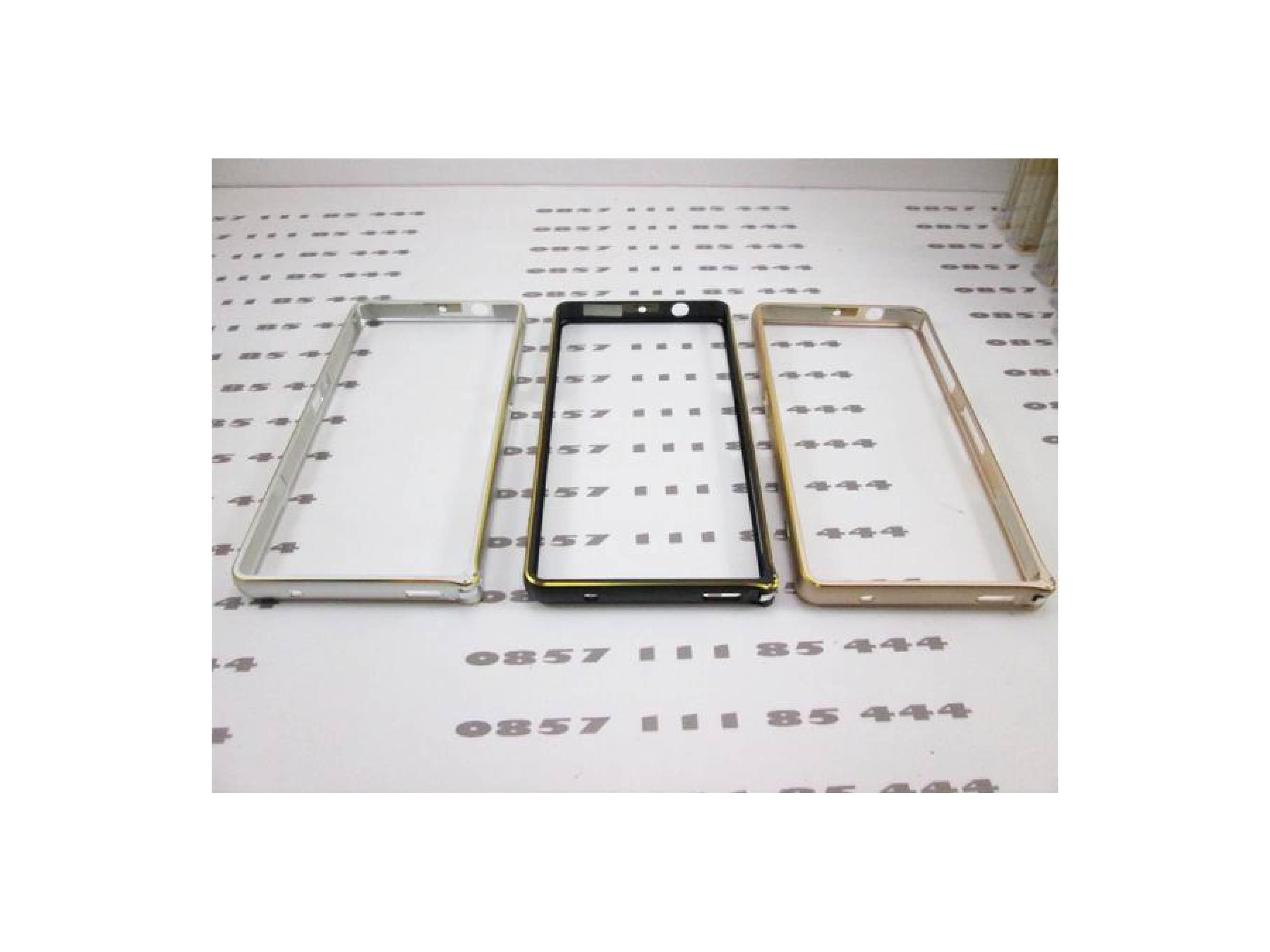 Jual Metal Aluminium Bumper Frame Cover Casing Case Sony Xperia Z3