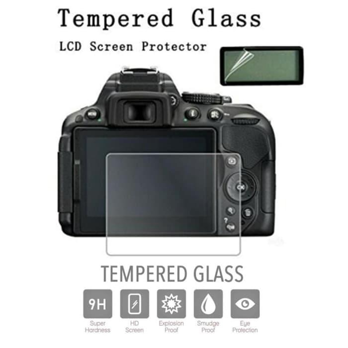 Ready!!! Canon Eos 1300D Lcd Tempered Glass Screen Protector Anti Gores - ready stock