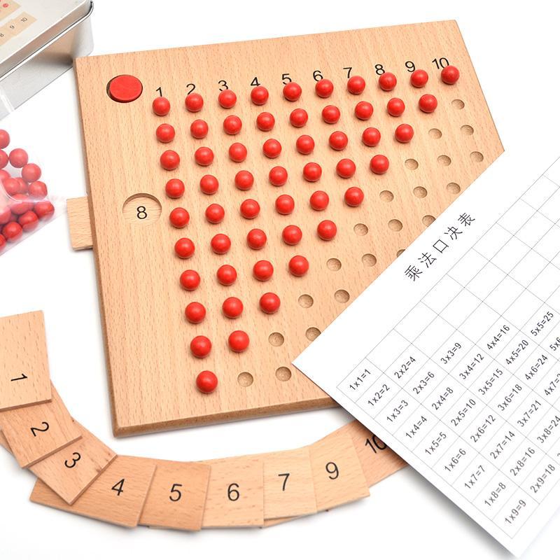 Rp 145.900. Anak-anak matematika Montessori ditambah 减法板 Mainan bayi belajar penjumlahan pengurangan Munte Montessori pendidikan usia dini ...