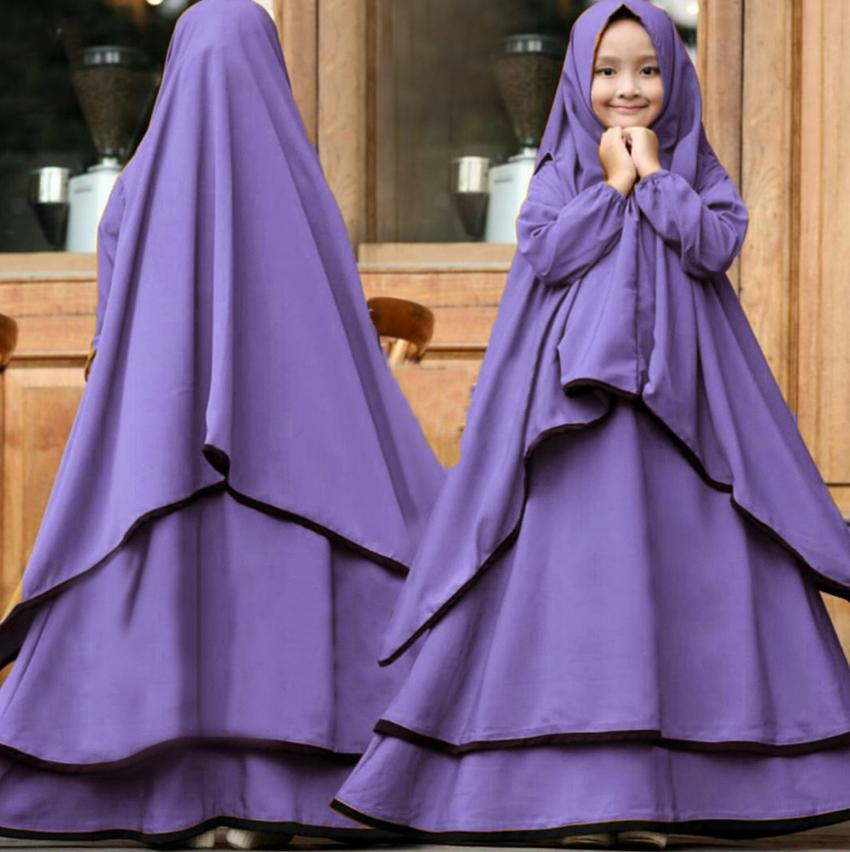 Jessica Fashion Syari Ramadhani Kids - Kubus 1 Untuk Anak Umur 7-10 Tahun