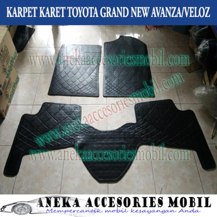 Karpet Karet/Lantai/Removable Floor Mat Toyota Grand New Avanza/Veloz