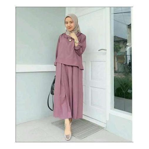 Baju Original Zaitun Dress Balotely Gamis Muslim Modern Maxy Gaun Rok Panjang Wanita Muslimah Simple Trend 2018