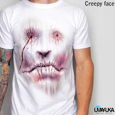 Markoa3d DTG UMAKUKA (Creepy face)