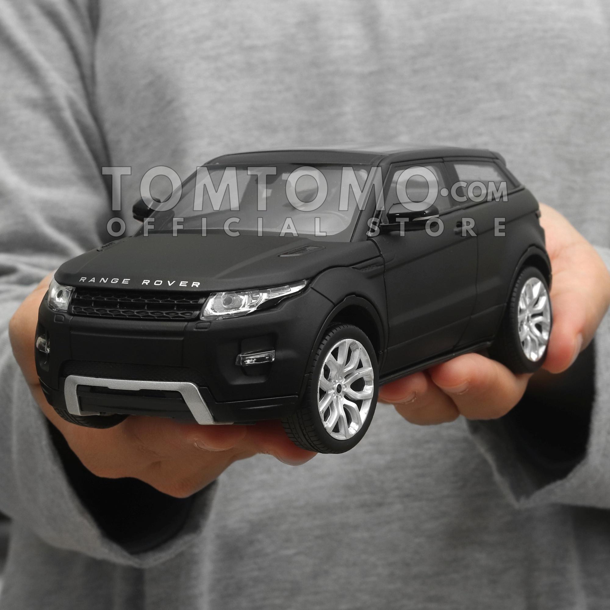 Land Range Rover Evoque Tomtomo Diecast Miniatur Mobil Mobilan SUV Jip Jeep Kado Ultah Mainan Anak Cowok Laki Aksesoris Dashboard