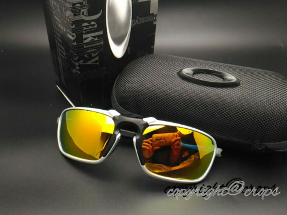 kacamata polarized O*kleyy BADMAN ( silver fire ) di lapak kacamata_jakarta getjoinshop