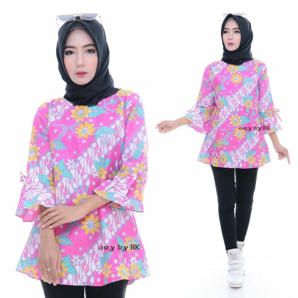 Blouse / Baju Batik / Blouse Batik / Blouse Batik Trendy / Blouse Batik Modern / Atasan Batik Wanita / Blus Batik Murah / Blouse Batik Prang Sofie