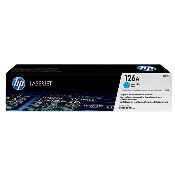 Toner HP Laserjet 126A cyan Original