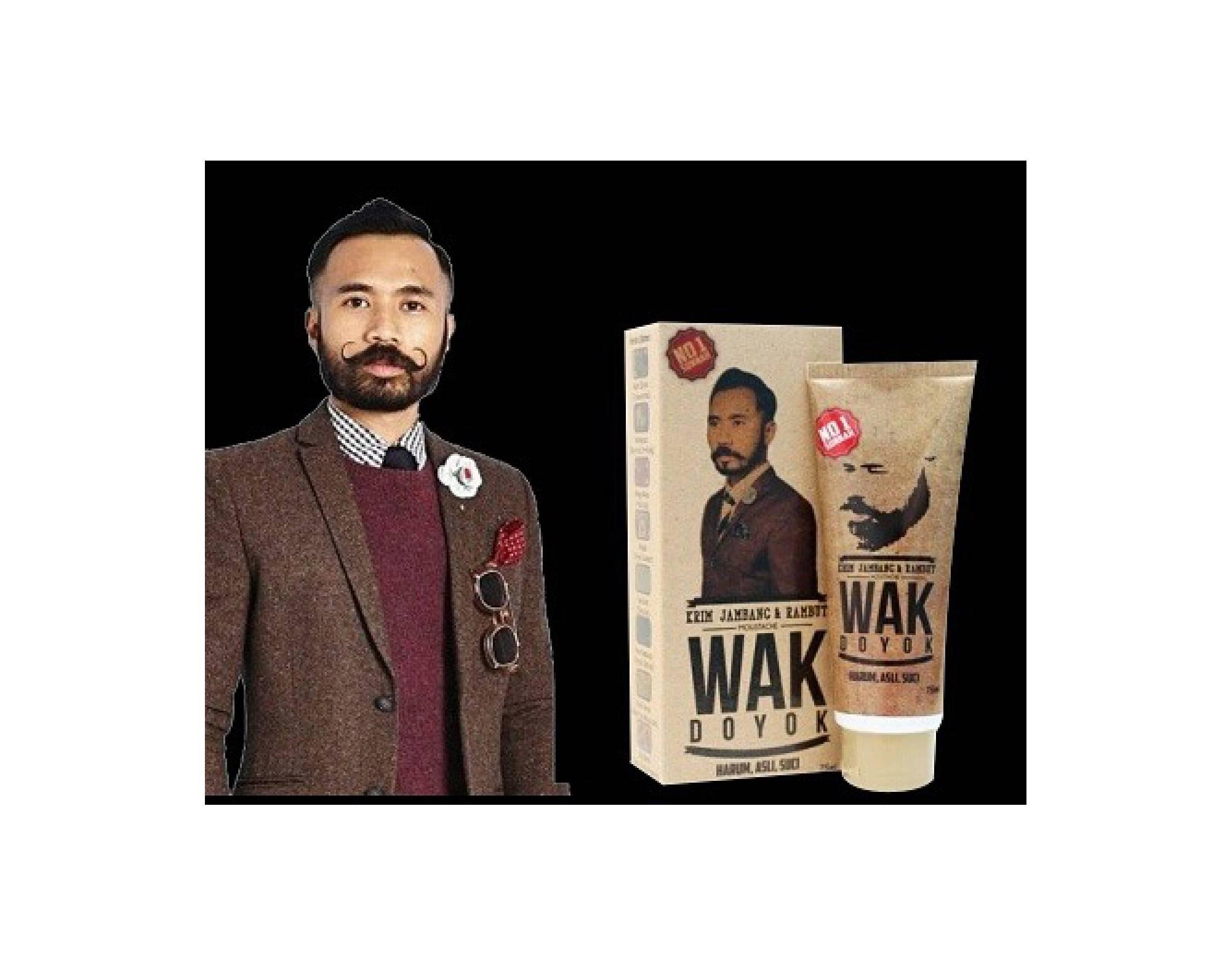 Cream Wak Doyok Wakdoyok Original Penumbuh Rambut Kumis Jenggot Kemasan Hemat Sample Jambang Alis Rambutimport Malaysia Krim Bewok