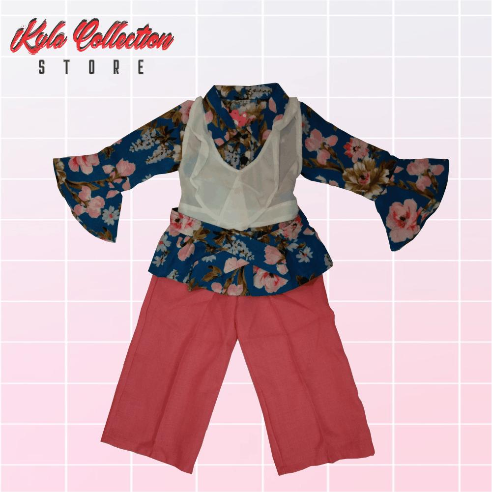Buy Sell Cheapest Setelan Anak Branded Best Quality Product Deals Baju Perempuan Import Lucu Cullotes Via 0030