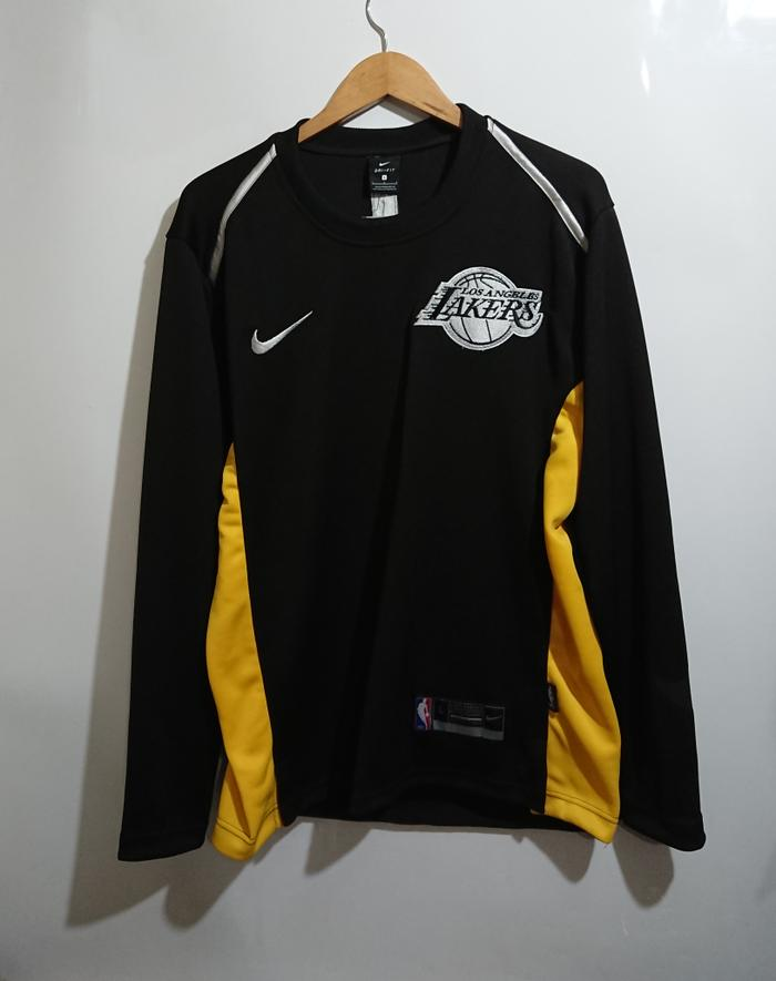 HOT SPESIAL!!! SWEATER BASKET NBA NIKE LAKERS HITAM 17/18 - mAYu6w