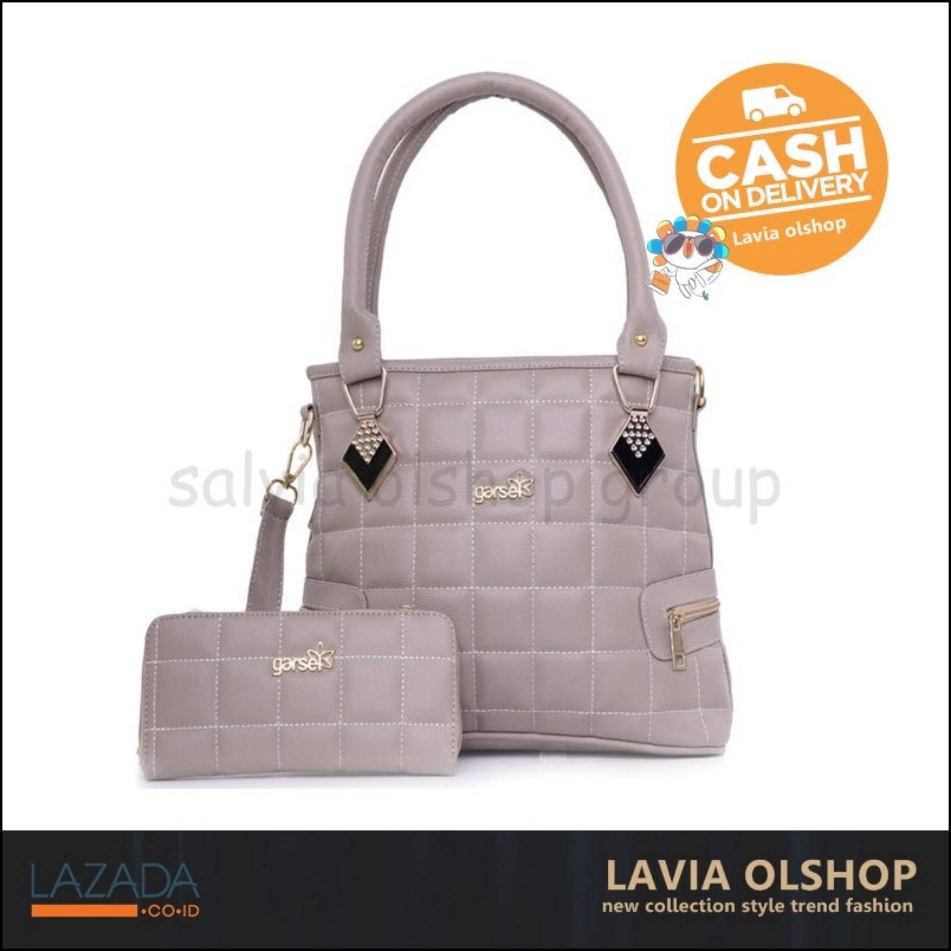 Fashion Tas Handbag Wanita Lucu Dan Modis Model Terbaru FKN 5235 - Krem