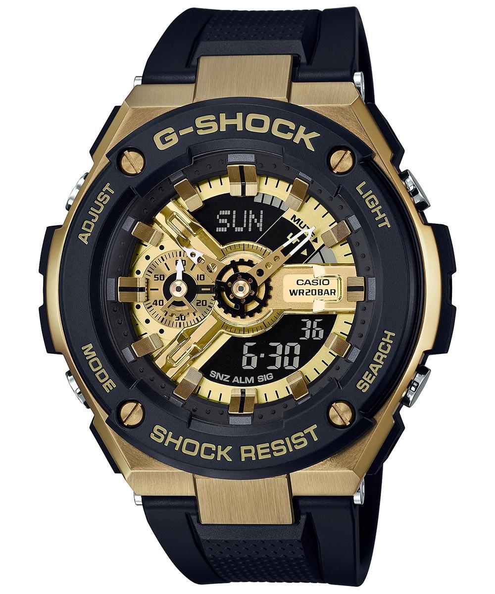 Jual Beli Jam Tangan Pria Casio G Shock Gst 8600 Rantai Mika Black Bagus 400g 1a9dr Steel Analog Digital