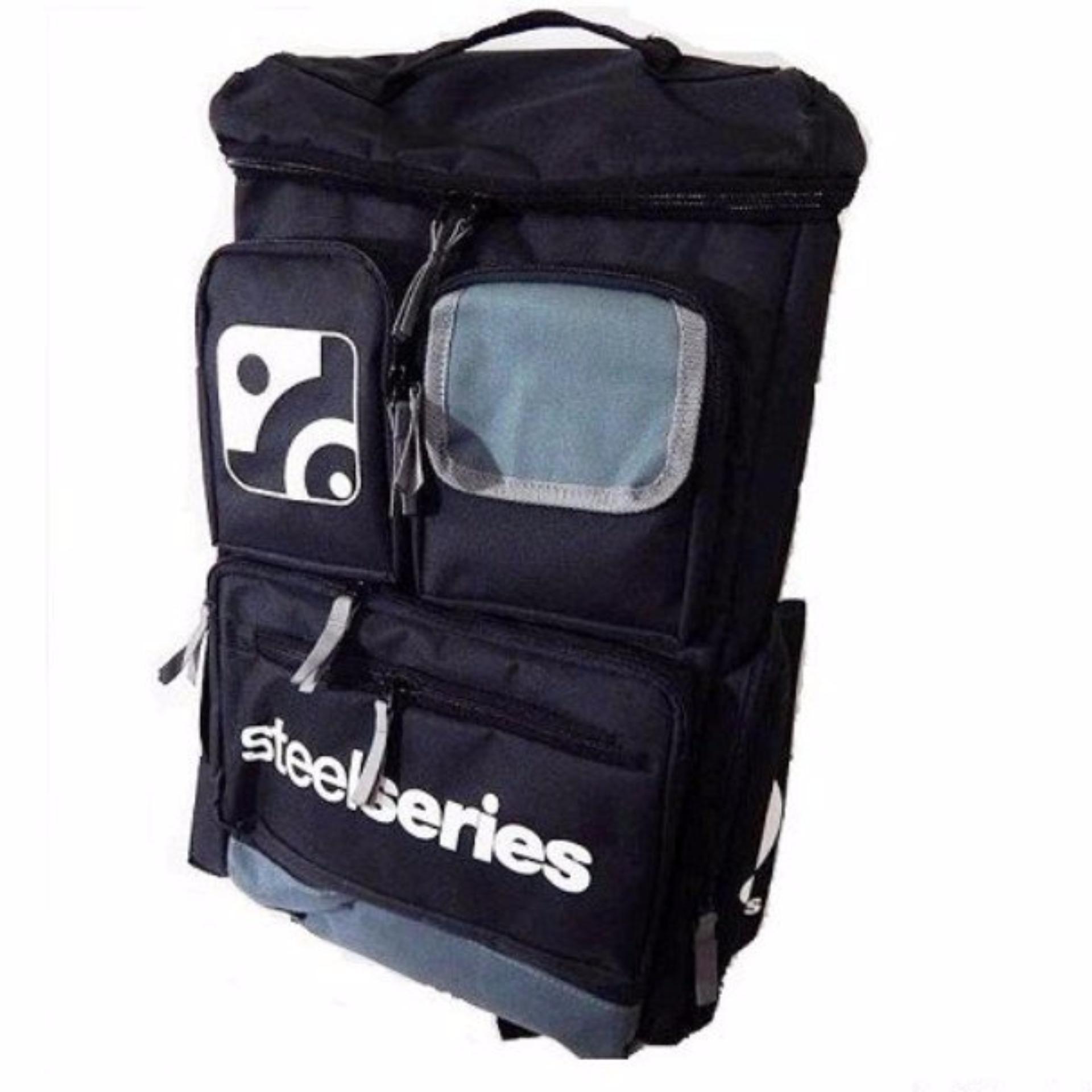 Jual Steelseries Terlengkap Siberia P300 Ps4 Ps3 Mobile Pc Mac Hitam Backpack Premium Gaming Bag Grey