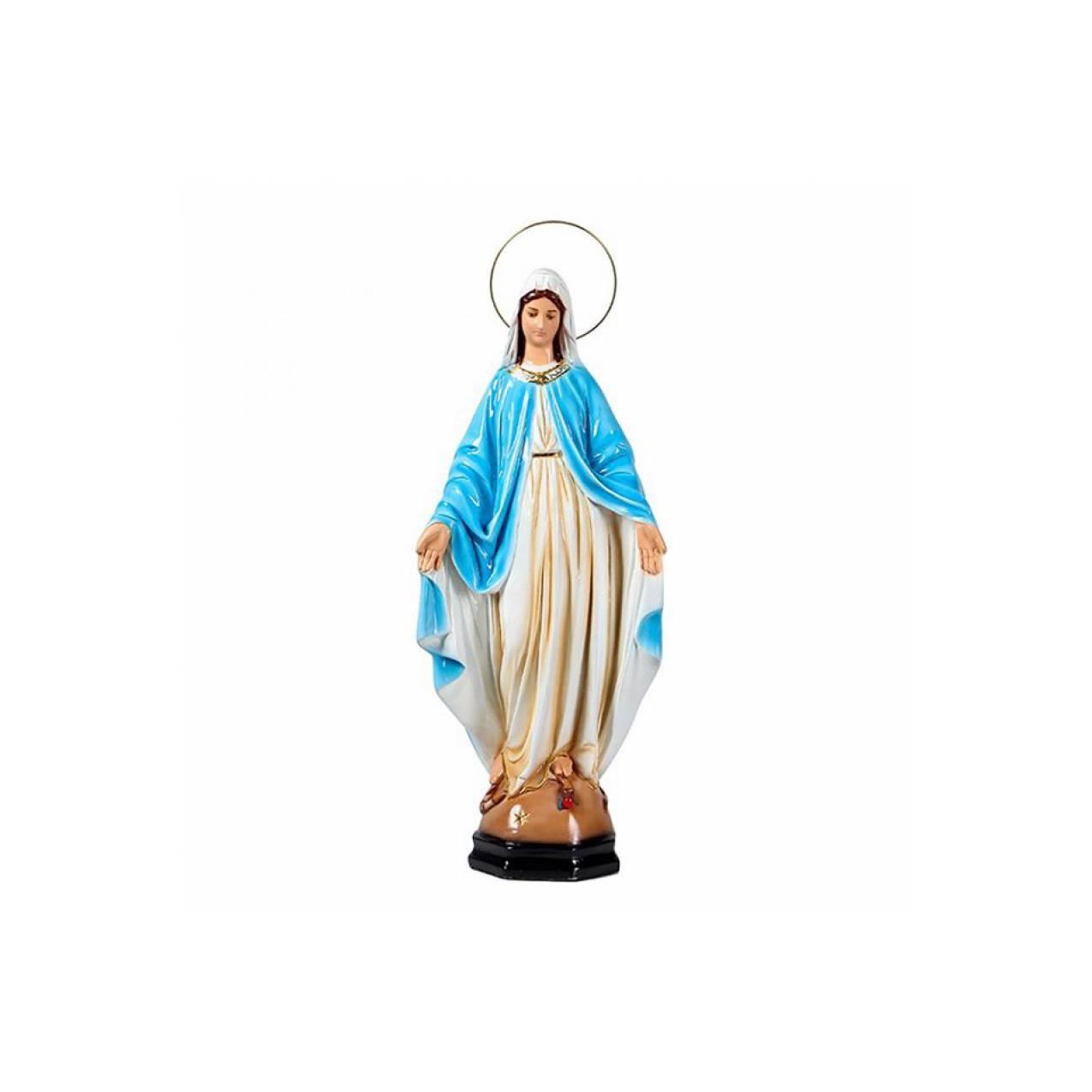 Ohome Decor 3d Bunda Maria Dan Bayi Yesus Patung Keramik Pajangan Kakek Nenek Jahit Sofa Oldman Tangan Terbuka Mantila Putih 60cm