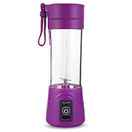 AIUEO Juice Blender Portable and Rechargeable Battery - Purple
