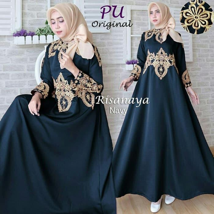 Cape gamis dress maxi maxy longdress pesta baju seragam pernikahan Limited!