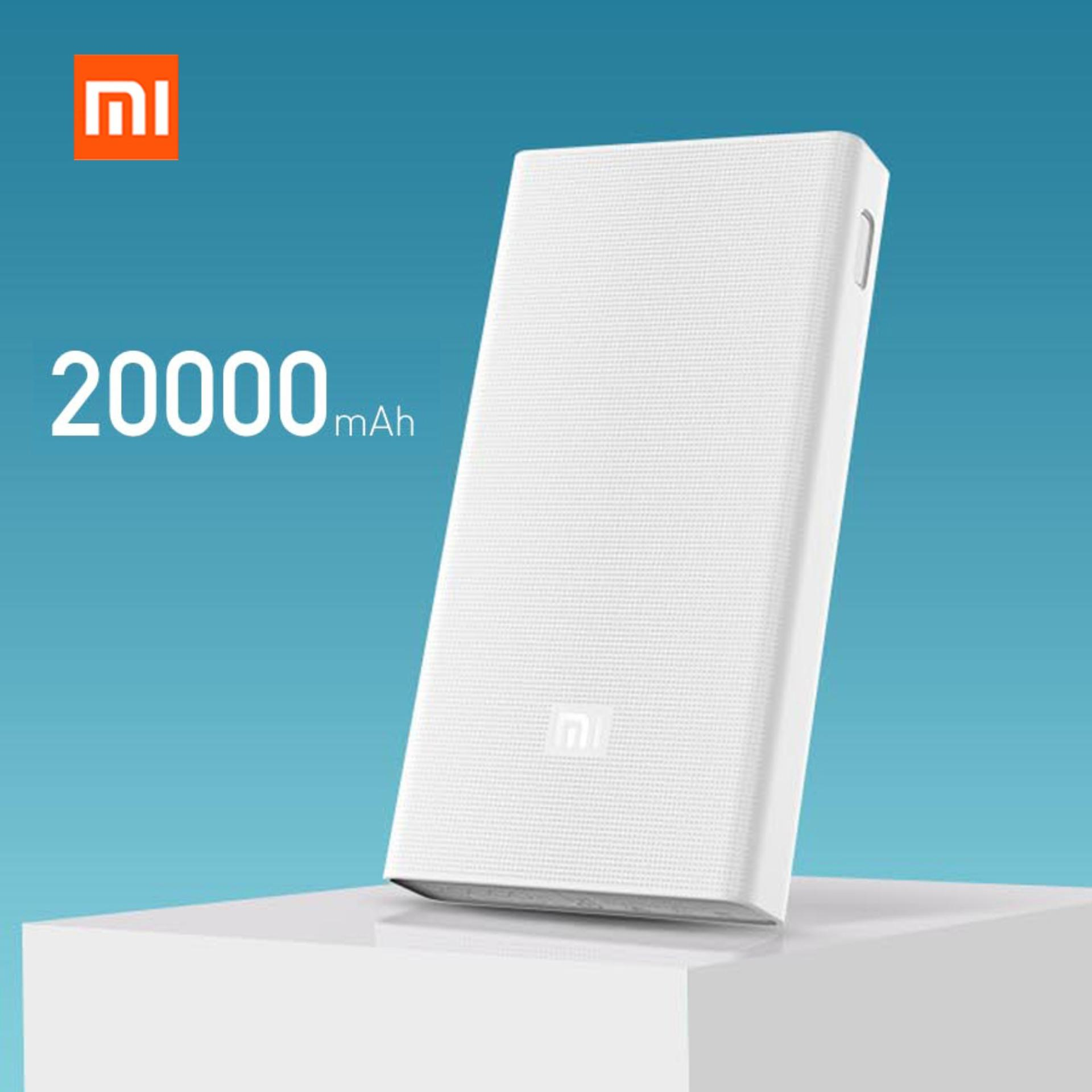 Xiaomi Mi Power Bank 20.000mAh 2C Two-way Quick Charge 3.0 (New) - White