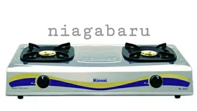 Kompor Gas Rinnai 2 Tungku Ri 522 E Ri 522E