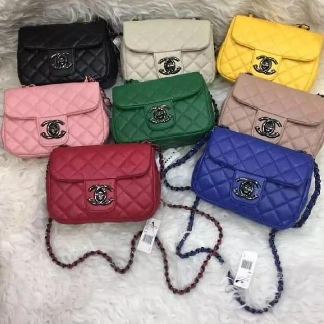 Tas Selempang Mini Cantik banyak varian warna (uk 18x8x14 cm)