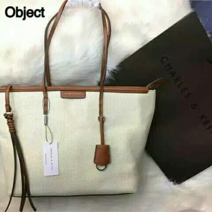 C Keith Textured Rotan Tote uk32x28 9cc90d1a08