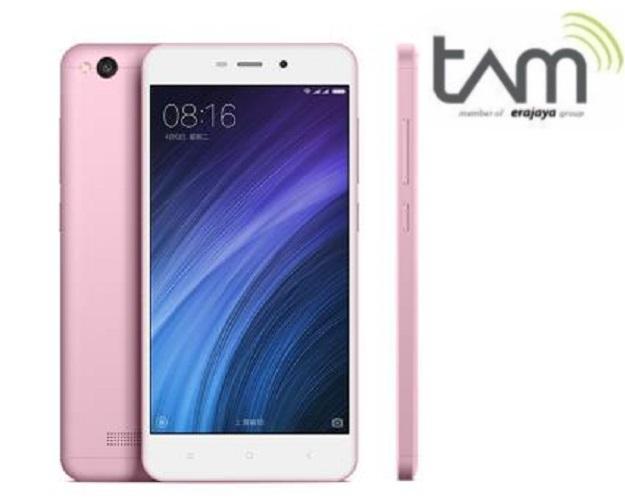 Xiaomi Redmi 4A - [2GB/16GB] - Rose Gold - Resmi TAM