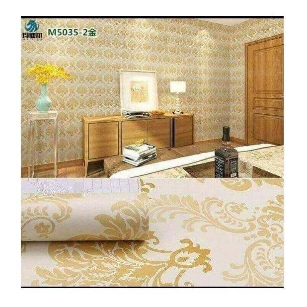 Sticker Wallpaper - Walpaper Sticker Dinding Motif Nature DLL (Size 45cm X 10M) -