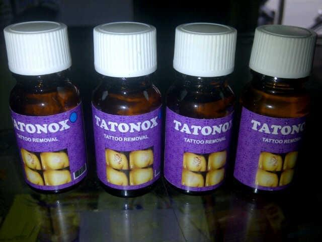 TATTOX / TATONOX OBAT PENGHAPUS TATO / KUTIL AMAN DAN AMPUH TATTONOX HOLO SB - TATONOX