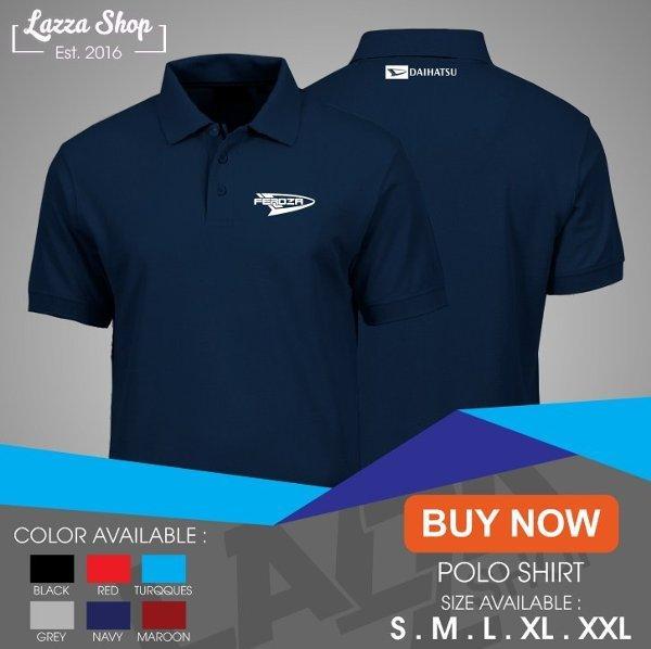 Poloshirt Polo Kaos Daihatsu Feroza logo murah Best Quality RADJA KAOS