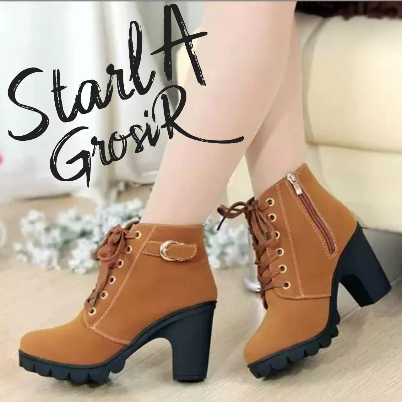 Starla Grosir - Women Fashion Boots Dn.061 By Starla Grosir.